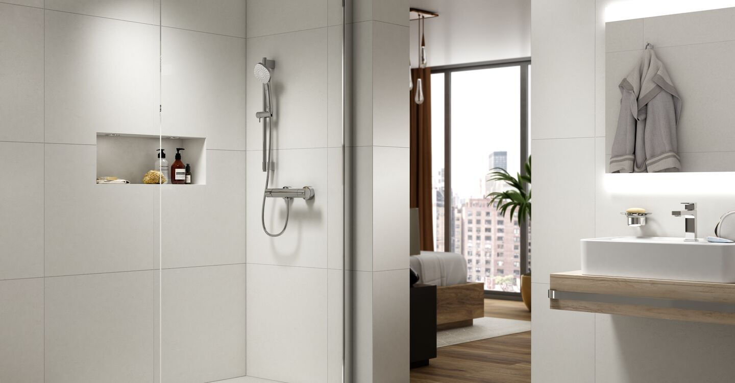 Evo jet diamond shower
