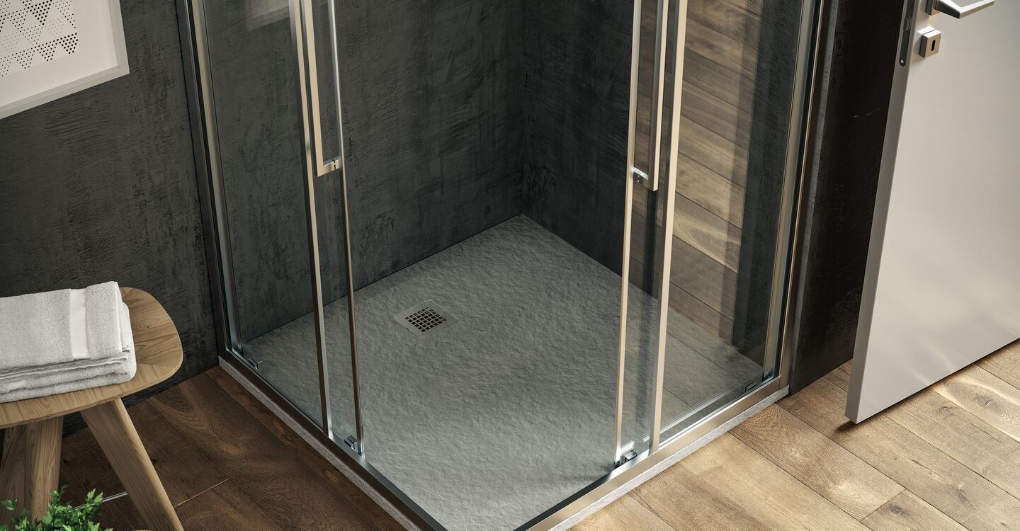 Square shower tray 100 x 100 x 3cm