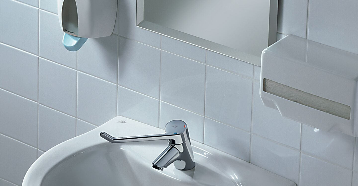 Basin mixer 180mm lever