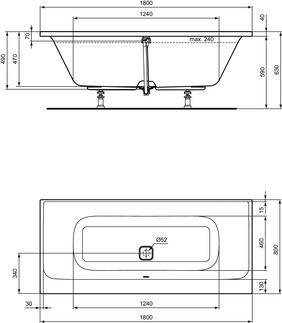 IS_TonicII_Multiproduct_PrListDrw_NN_E3976;E3977;bathtub180x80;D-E